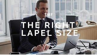 Choosing Your Lapel Size