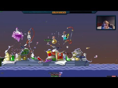 Our First Game of Worms Armageddon |