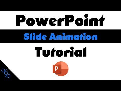 Animated PowerPoint Slide Design Tutorial - PowerPoint 2019 thumbnail