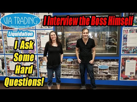 I Interview the Boss Himself - I ask hard Questions & How did it Start?