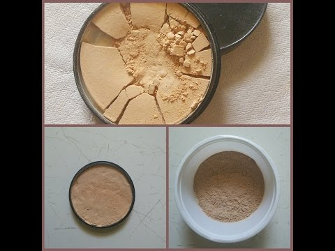 DIY: How to Fix Broken Compact Powder With & Without Using Rubbing Alcohol