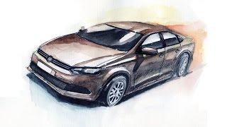 видео Кузовной ремонт Фольксваген, цена кузовного ремонта Volkswagen в Москве