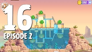 Angry Birds Stella Level 16 Episode 2 Beach Day Walkthrough
