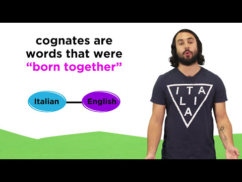 Italian and English: Cognates and False Cognates