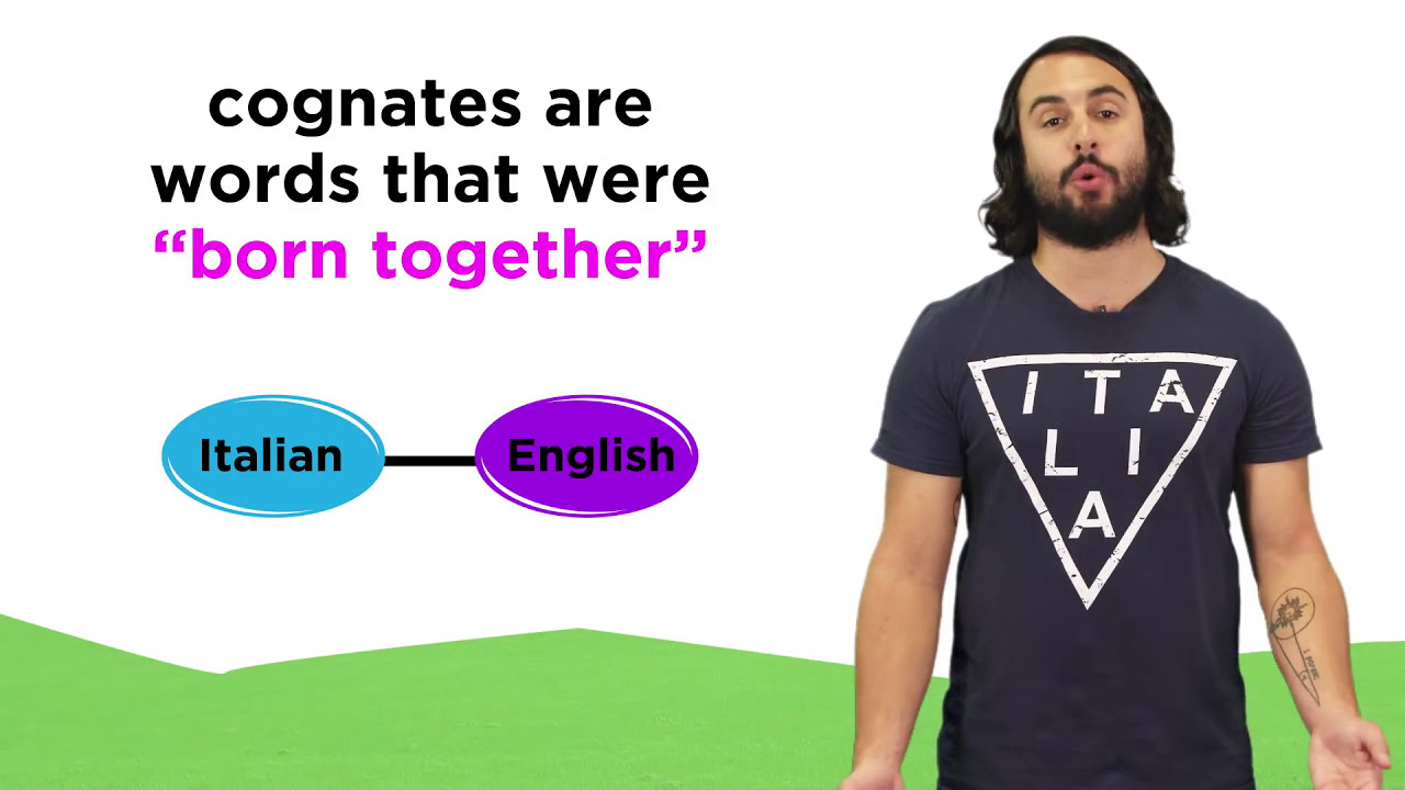 English In Italian: Italian And English: Cognates And False Cognates