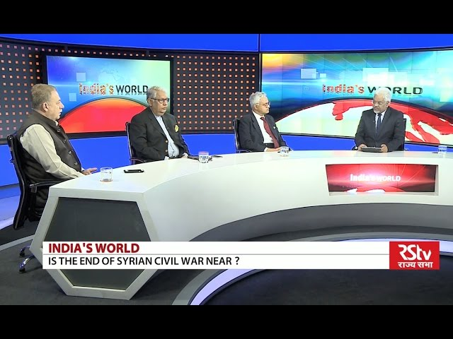 India's World: Amazing Debate on Syria Exposes Criminal Western, Israeli & Gulf State Intervention