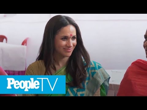 Never-Before-Seen Footage Of Meghan Markle's Humanitarian Trip To India Released | PeopleTV