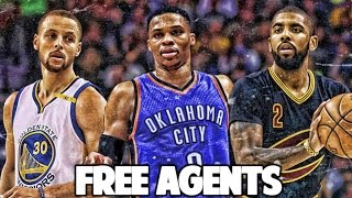 What if every nba starting point guard was released into free agency? nba 2k17 myleague