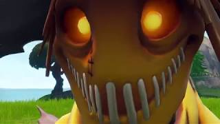 *NEW* Hay Man Skin Face Reveal Fortnite (Season 6 Skin)