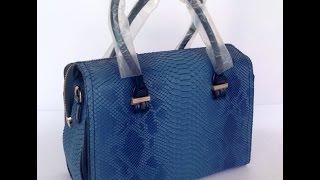 Лакированная сумка - ремонт ручек(Лаковая прессованная кожа очень любит трескаться, но что поделать если ее так любят ставить на подделки..., 2015-09-08T23:50:19.000Z)