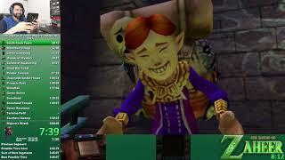 The Legend of Zelda: Majora's Mask 3D 100% Speedrun in 5:45:08