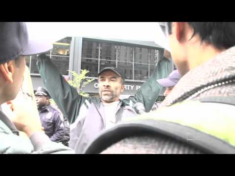 Hateful shouting match at Occupy Wall Street