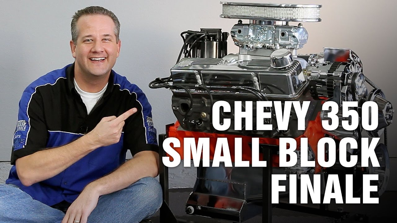 How To Complete Rebuild Chevy 350 Small Block Engine Motorz 69 95 Lt1 Diagram Youtube