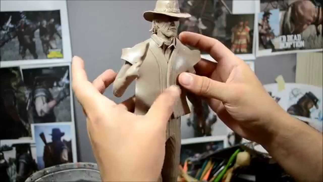 Hand sculpting with Super Sculpey