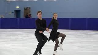 Маргарита Свистунова и Дмитрий Студеникин Контрольные прокаты 2021