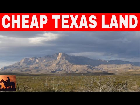 7 Places In Texas To Buy Cheap Land
