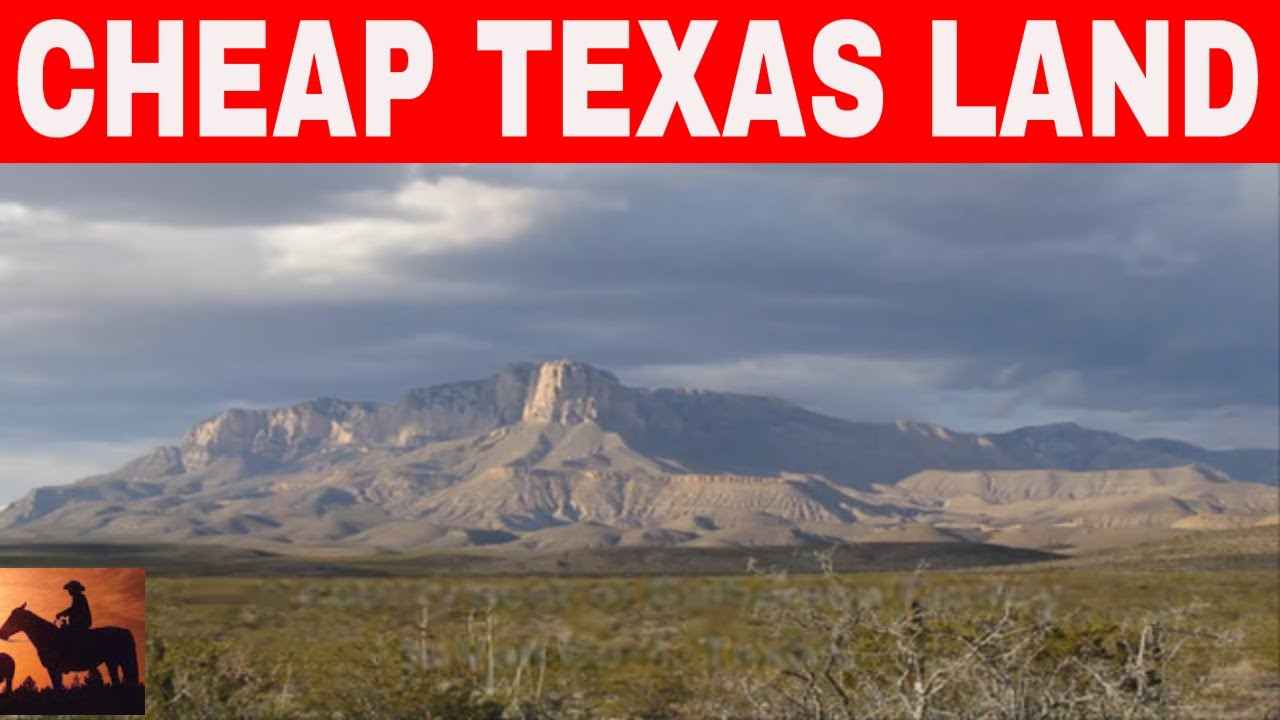 7 Places In Texas To Buy Cheap Land Youtube
