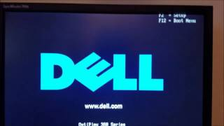 Dell Optiplex 360 No boot device available problem fix
