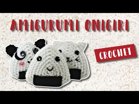 Free Pattern Friday: Onigiri Amigurumi – i crochet things | 360x480