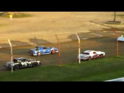 Dog Hollow Speedway - 8/5/16 Pure Stocks Heat Race #2
