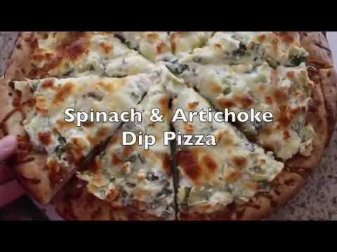 Spinach & Artichoke Dip Pizza