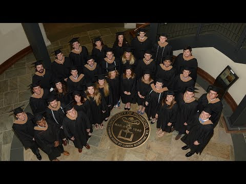 The Richmond MBA Commencement Ceremony (Spring 2017)