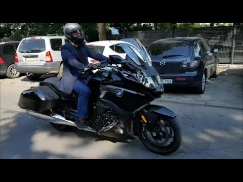 New Bmw K1600 Bagger 2018 Quick Ride Reverse Gear Youtube