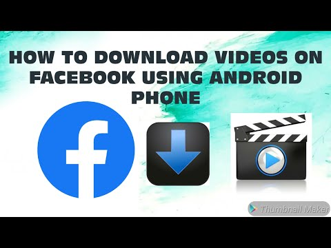 HOW TO DOWNLOAD VIDEOS ON FACEBOOK USING ANDROID PHONE (TAGALOG)