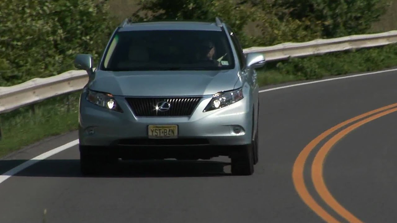 2010 Lexus RX350 AWD Drive Time review