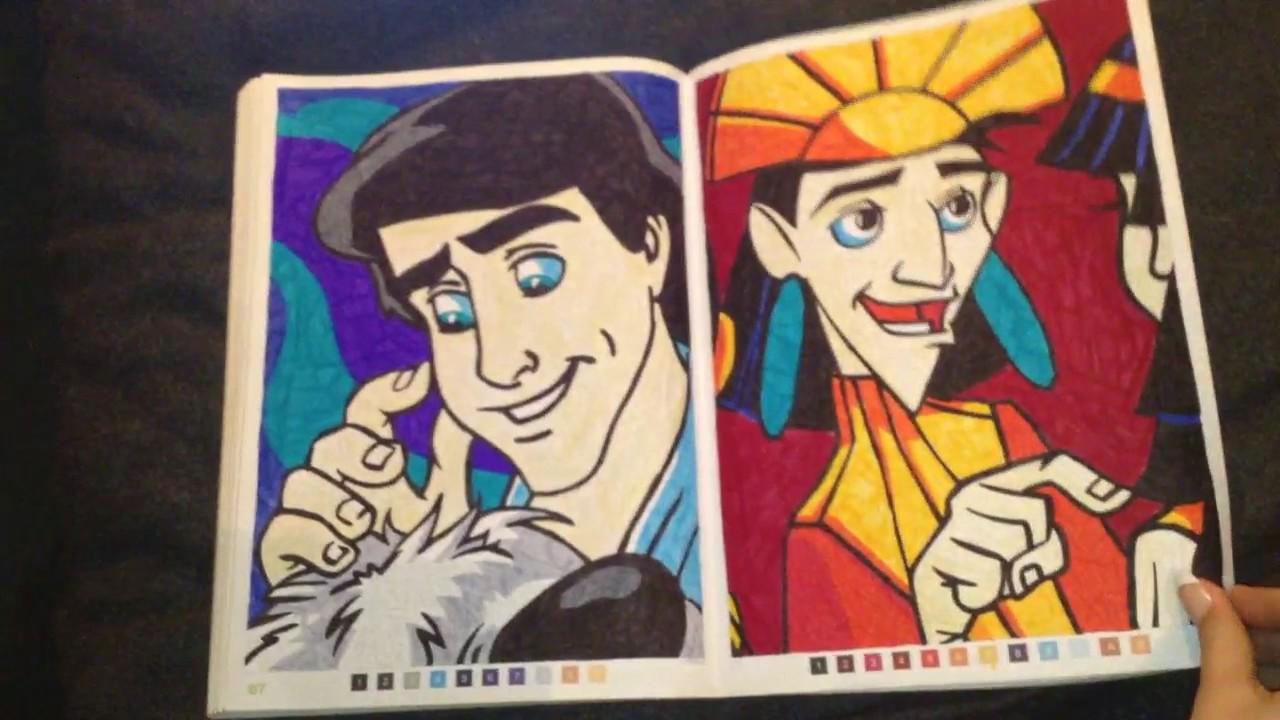 Coloriage Mystère Disney Les Grands Classique Tome 2