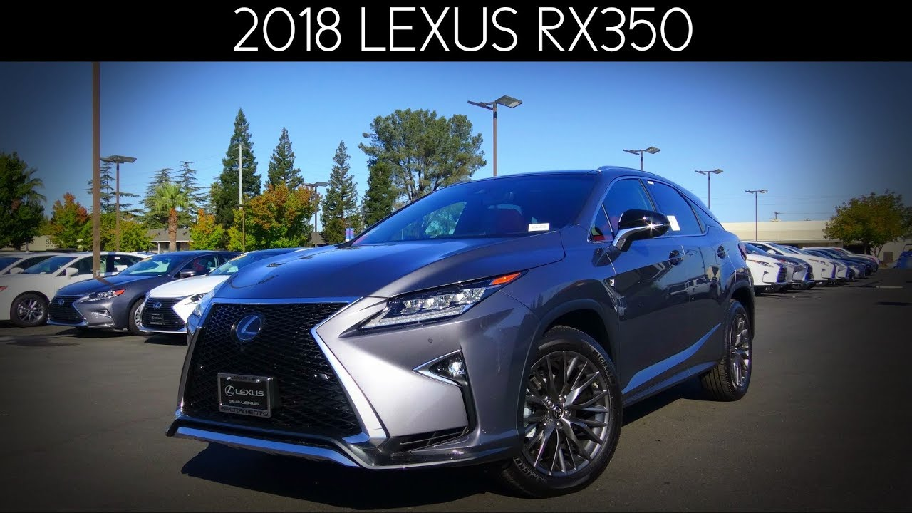2018 Lexus RX350 F Sport 3.5 L V6 Review