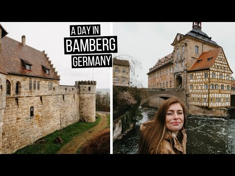 A Day in Bamberg, Germany 🇩🇪 | Altenburg Castle, famous Old Town Hall, farmer's market + more! 🏰