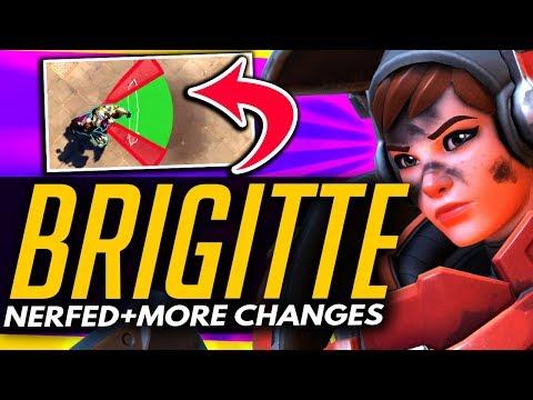 Overwatch | BRIGITTE NERFED + More PTR Changes Added!