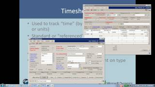 Microsoft Dynamics GP - Project Accounting Series - Part 3 - Transactions