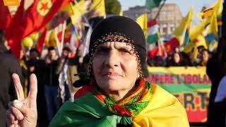 Roma: curdi protestano contro le operazioni militari della Turchia