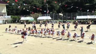 "A rice planting song and dance ""tabayashi"" in Oguni town, Hamada city"