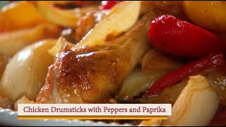 Chicken with Peppers and Paprika