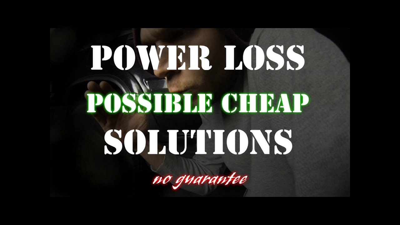 1997 dodge dakota tach wiring diagram 2002 honda civic car stereo radio loss of power will not rev over rpm possible cheap solution youtube