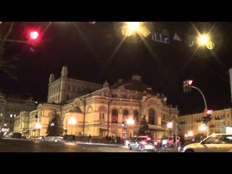 Ukraine Christmas in Kiev: Opera & Ballet Theatre in Kiev