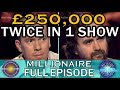 Who Wants To Be A Millionaire 250 000 Won Twice In One Show mp3