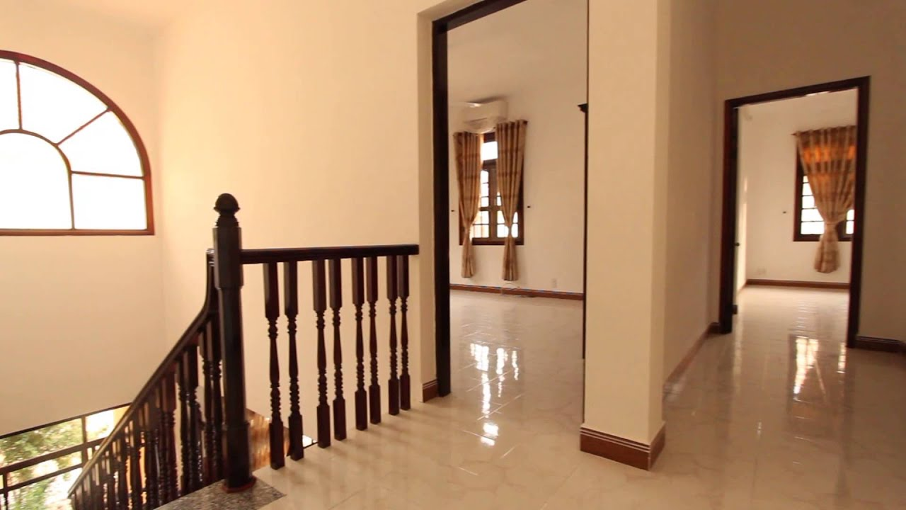 Beautiful 4 bedroom house for rent thao dien youtube for 9 bedroom house for rent