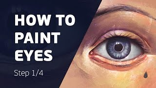 How to Paint Realistic Eyes in Photoshop: The Ultimate Guide [1/4]