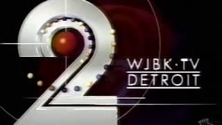 WJBK TV 2 Ident 1992