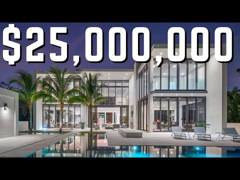 The Newest MEGA Mansion In Miami Beach | Find Out Why Its $25 MILLION