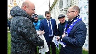 Максим Степанов посетил стадион имени Бориса Тропанца (8.11.2017)