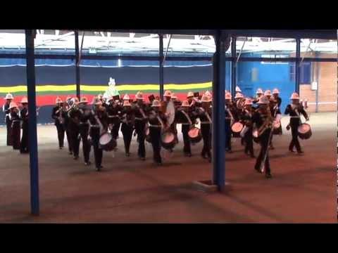 Royal Marines Band CTCRM Herrick 14 medal parade.