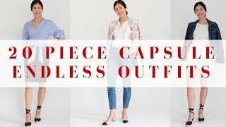 20 Pieces, Endless Outfits | Spring Capsule
