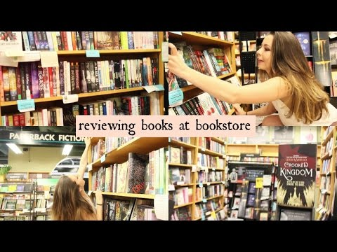 REVIEWING BOOKS AT THE BOOKSTORE ❀ Come Follow Me Around!
