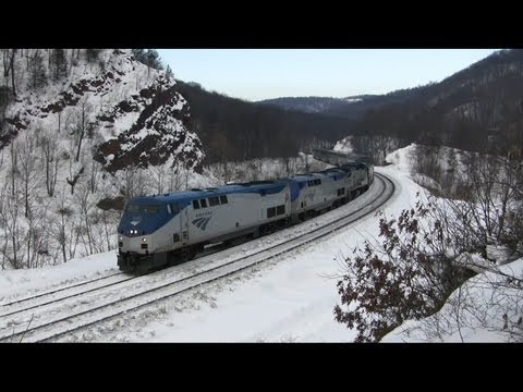 Thumbnail: Amtrak Capitol Limited Montage - Plenty of K5LA!