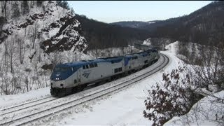 Amtrak Capitol Limited Montage - Plenty of K5LA!